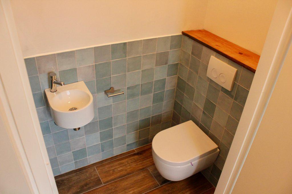 Klusbedrijf toiletrenovatie