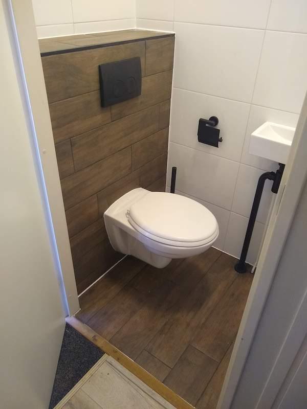 Tegelzetter toilet